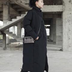 демисезонное свободное oversize прямое утепленное пальто в стиле оверсайз casual,черный длинный плащ ,стильный дизайн с